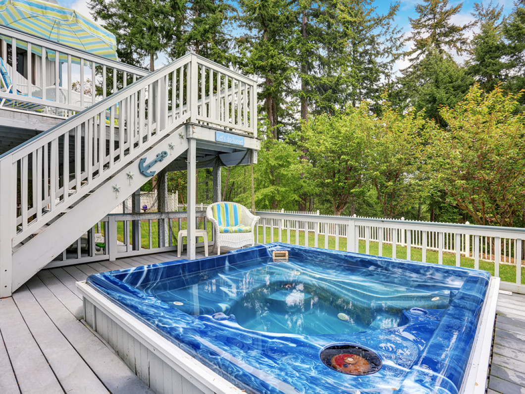 Kick Back and Relax in Your Hot Tub